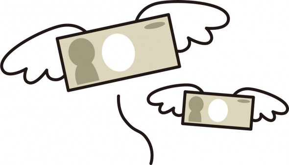 お金を呼ぶ