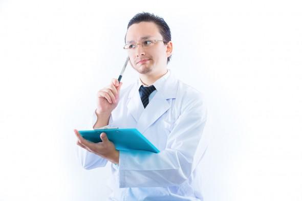 医師の検査