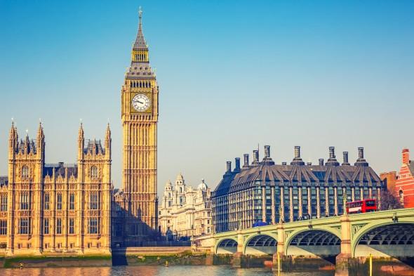ヨーロッパ、ロンドン街並み