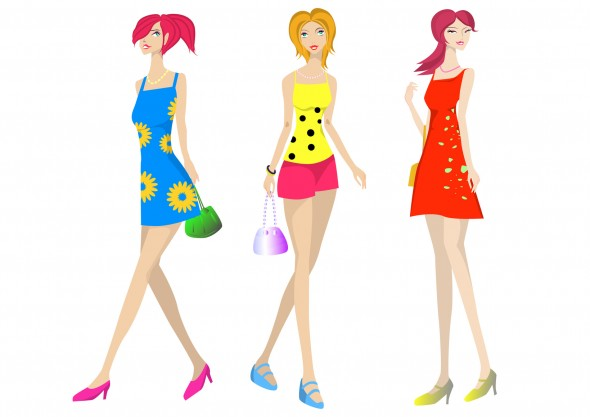 プリントファッション