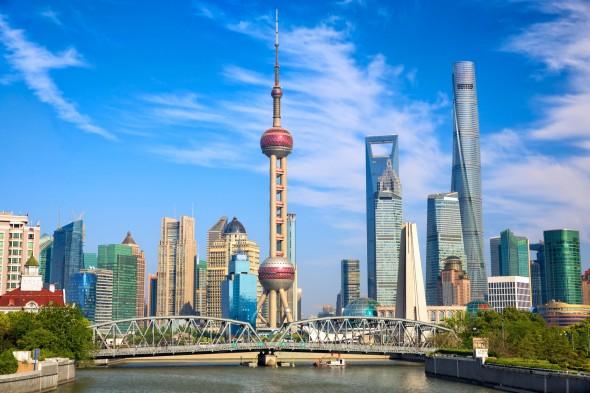 上海の街、中国