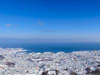 冬の小樽市