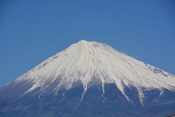 冬の富士山
